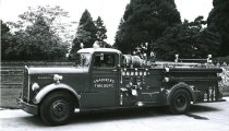 Image of Fire Department pumper truck