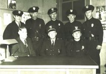 Image of Police Department, early 1940s