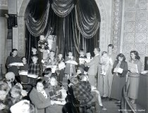 Image of Coos Bay (?) Pulp Mill Christmas Party - 1948