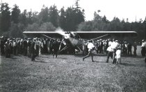 Image of March's Point airfield opening