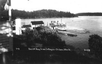 Image of Orcas Island - steamer at ferry dock