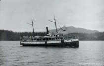 Image of Passenger steamer - Guemes Channel