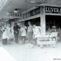 "Image of Luvera's Grocery - ""bond stunt"""