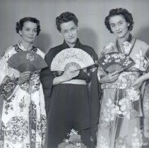 Image of Ethel Hibler, Gwen Beard, Barbara Wells - MIKADO