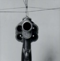 Image of front view of a revolver