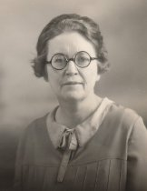 Image of Frances March, Whitney School teacher