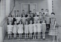 Image of Ms. Whateau's kindergarten class