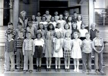 Image of Ms Wilcox, fourth grade class, Whitney School