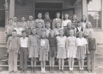 Image of Hazel Nobles, 5th or 6th grade class, Whitney School