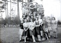 Image of WF 2836 - Girls' Athletic Club, 1943-44