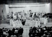 Image of band and choir concert