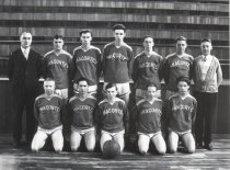 Image of 1928 high school basketball team