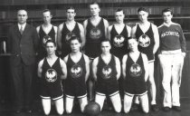 Image of 1930 high school basketball team