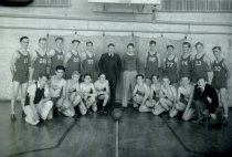 Image of 1934 high school basketball team