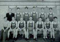 Image of high school basketball team - 1935