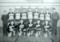 Image of second basketball team - 1942