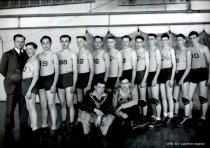 Image of second string basketball team - 1943