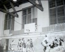 Image of 1945 basketball game