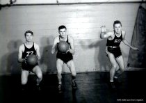 Image of 1945 Robert Brodie, Duane Berentson, Louis Grinnell