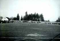 Image of high school football game c. late 1930s