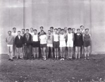 Image of 1928 high school track team