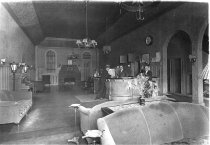 Image of interior of Wilson Hotel Lobby 1930's