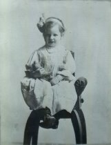 Image of WF 3432 - young girl in chair