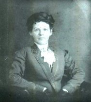 Image of woman - late 1800s