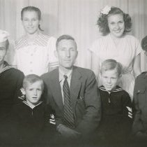 Image of LARSON family of Guemes Island