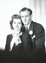 Image of wedding of Francis Barcott and Ethel Norman