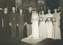 Image of wedding of Jim Hunt and Shirley Jeppson