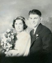 Image of wedding of Leonard Moore and Margaret Deane