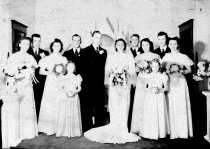 Image of wedding of Leonard Smith and Helen Elvebak