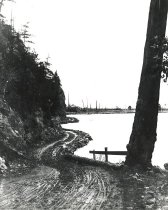 Image of WF 5408.A,B - Fidalgo Bay Road south of Weaverling Spit