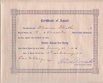 Image of 2003.058.001 - Certificate of Award