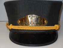 Image of 2012.088.001-.002 - Hat, Conductor