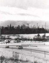 Image of Highway 20 with refinery in background