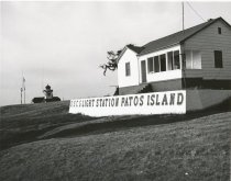 Image of Patos Island located northwest of Orcas Island