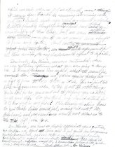 Image of Letter Bill Wells to Dr. Minnie Burdon