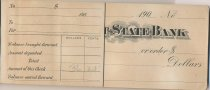Image of Skagit State Bank Checkbook