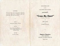 "Image of AHS 1946 Junior Class Play ""Cross My Heart"""