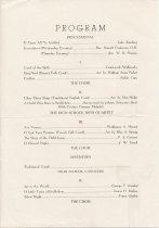 Image of 1946 AHS Christmas Concert program p.2