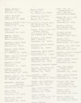 Image of Addresses class of 1921 AHS