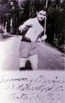 Image of 2001.048.040 - Sammy Devine, CCC boxer