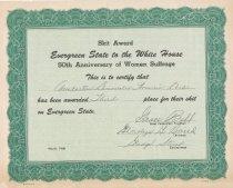 Image of 2012.110.004 - Certificate, Commemorative