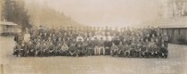 Image of Civilian Conservation Corps (CCC) Co. 266 who were based at Cornet Bay