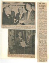 "Image of Article: New Mayor Dr. Eugene Alton ""Bud"" Strom"