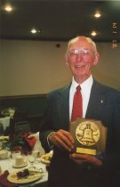 Image of 2012.102.042.005 - Bud Strom receives Liberty Bell Award, 2001