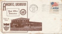 Image of Envelope copy - Dedication of Post Office expansion 1963