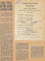 Image of 1932 AHS Commencement program